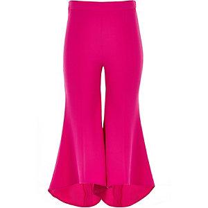 Pantalon évasé RI studio rose vif pour fille
