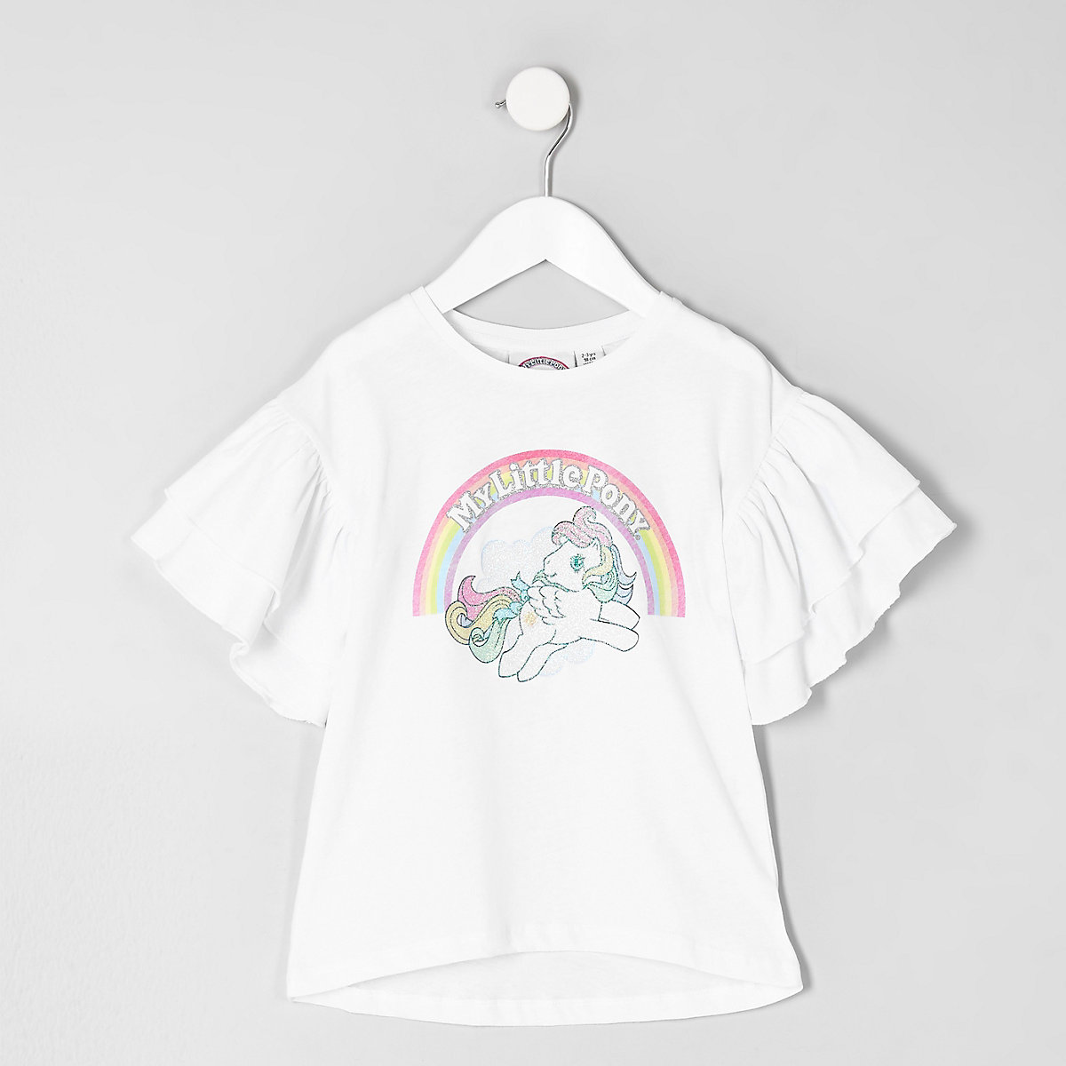 Mini girls white 'My Little Pony' T-shirt