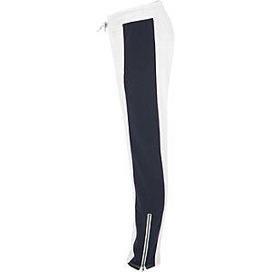 Converse - Witte joggingbroek voor meisjes