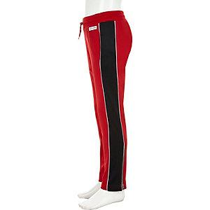 Pantalon de jogging droit rouge Converse pour fille