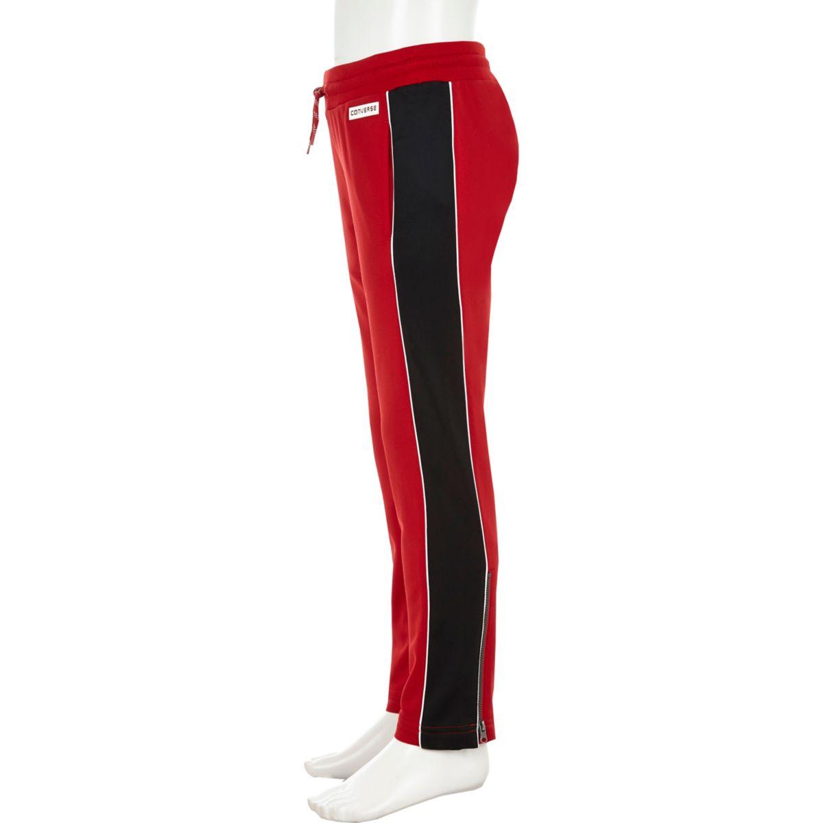 Converse – Rote Straight Leg Jogger