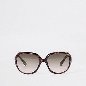 Girls yellow tortoiseshell glam sunglasses