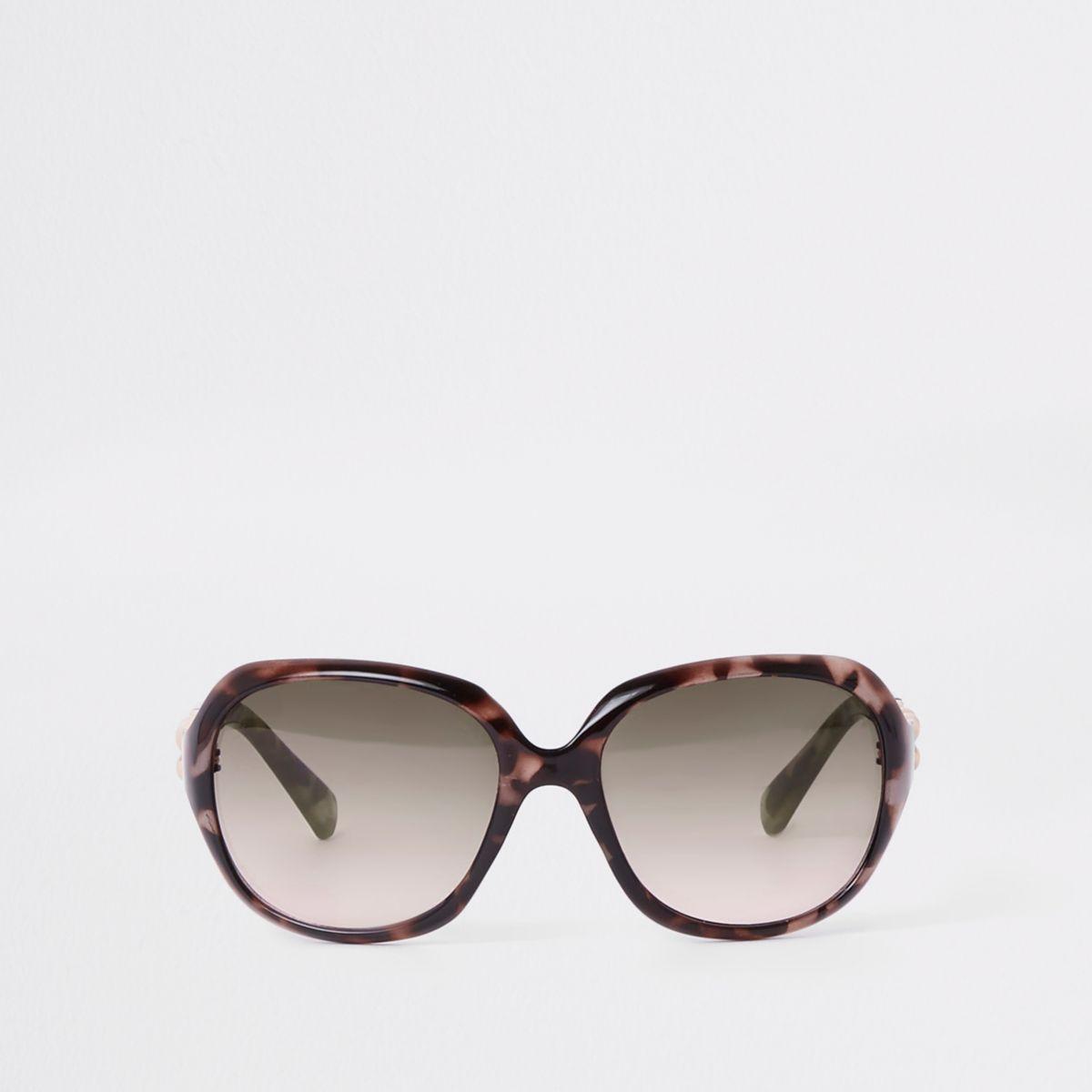 Girls yellow tortoiseshell glam sunglasses
