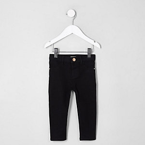 Mini girls black Molly mid rise jeggings
