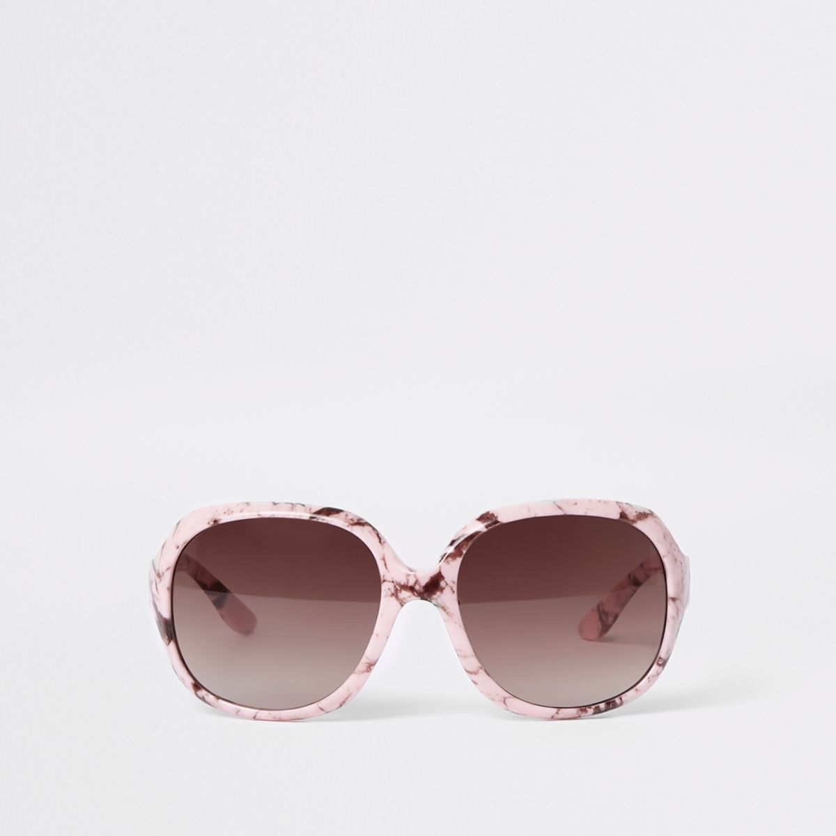 Mini girls pink marble sunglasses