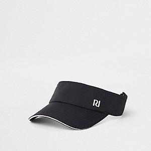 Zwarte visor met RI-logo voor meisjes