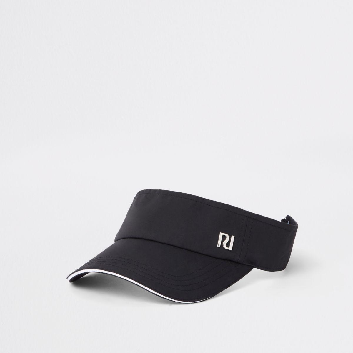 Girls black RI visor