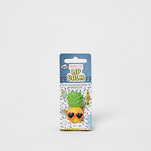 Girls yellow pineapple lip balm