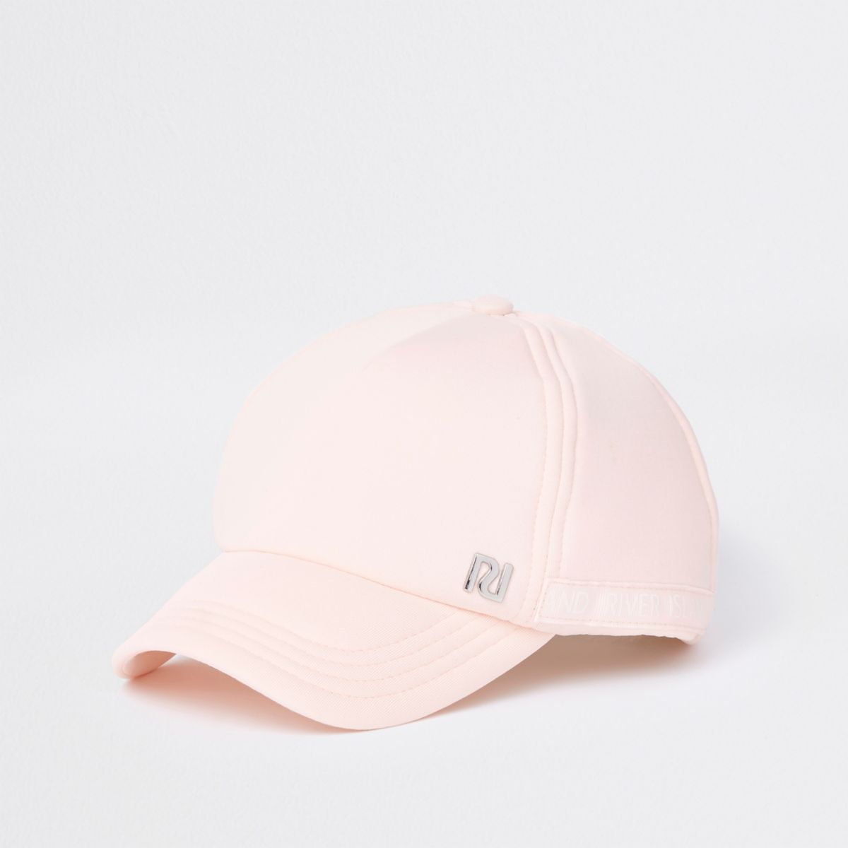 Girls pink RI baseball cap