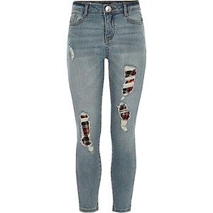 Amelie – Blaue, legere Skinny Jeans