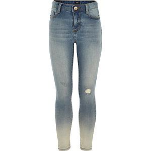 Amelie - Dip-dye distressed jeans voor meisjes