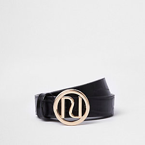 Girls black RI Belt