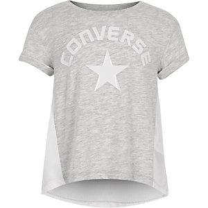 Converse - Grijs lunar rock T-shirt