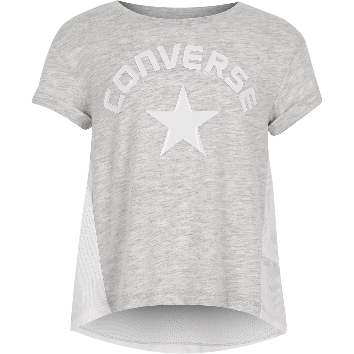 Girls Converse grey lunar rock T-shirt