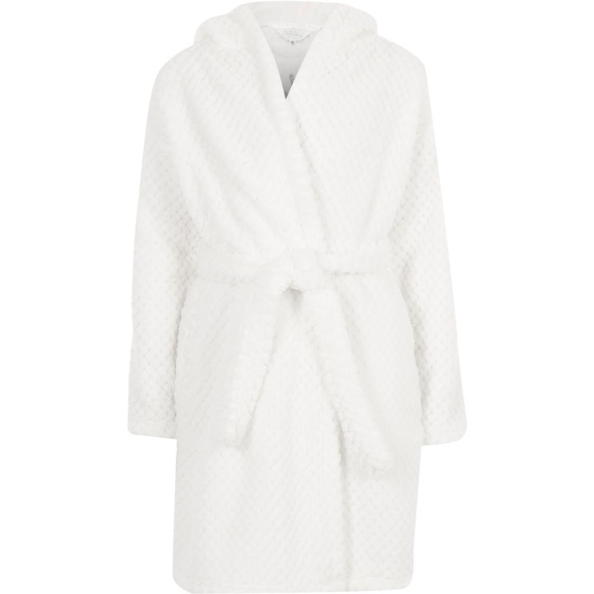 Girls white unicorn dressing gown - Pyjamas & Underwear - girls