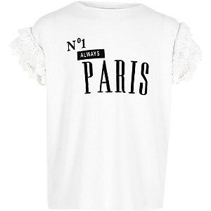 """Weißes T-Shirt """"No.1 Paris"""""""