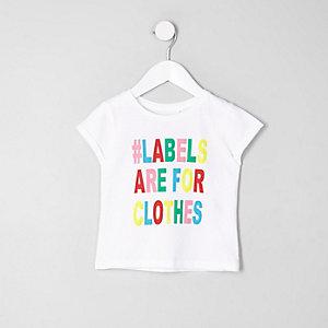 Mini - Ditch the Label T-shirt voor een goed doel voor kinderen