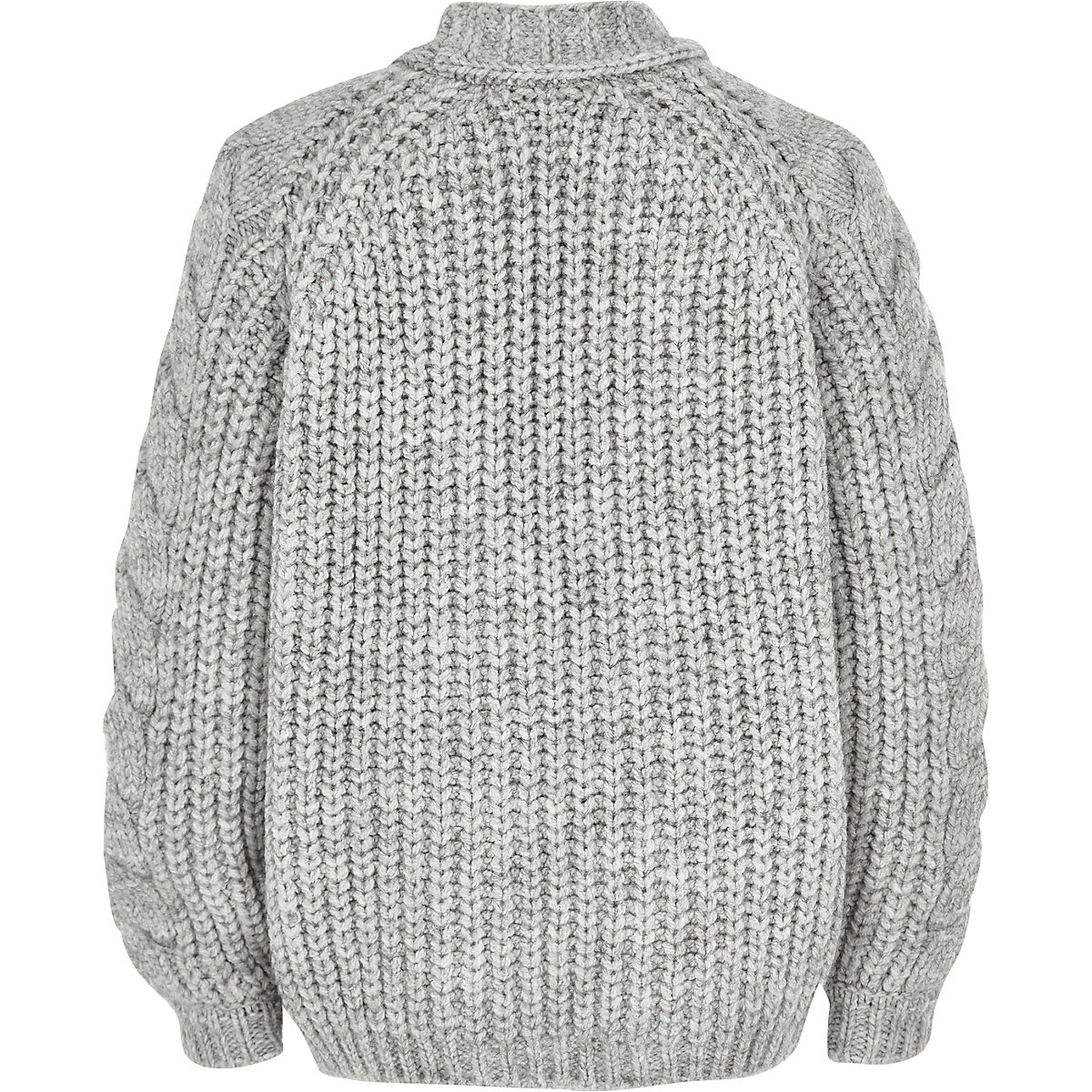 Girls chunky cable knit cardigan - Cardigans / Jumpers - Tops - girls