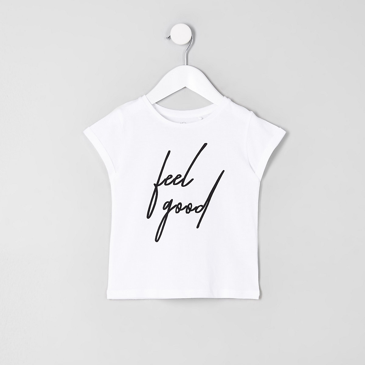 Mini girls 'feel good' T-shirt