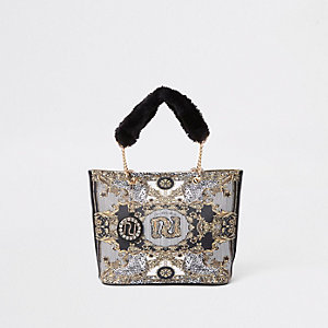 RI 30 girls black shopper