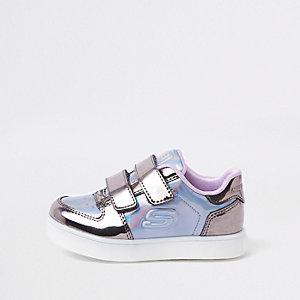 Mini - Sketchers - Lichtpaarse sneakers voor meisjes