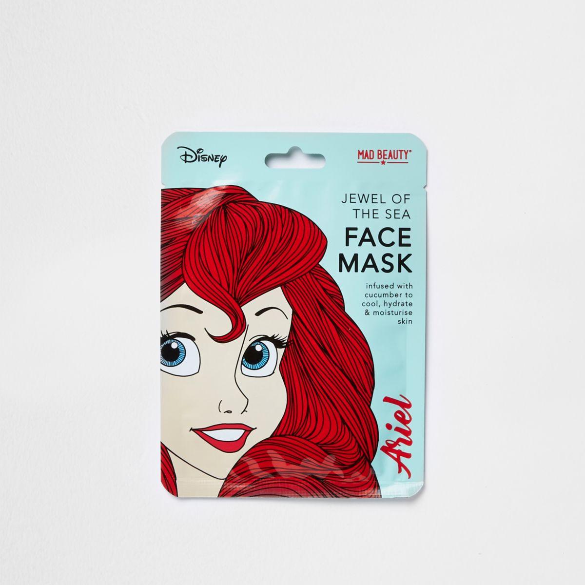 Girls Disney Ariel face mask