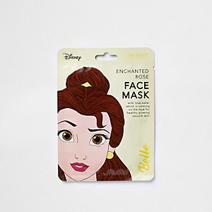 Girls Disney Belle face mask