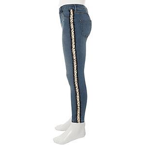Molly – Mittelblaue Jeans