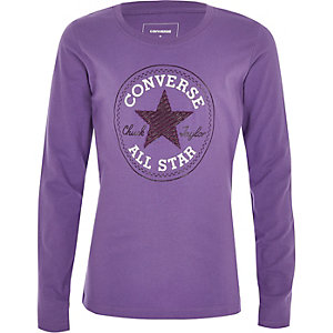 Converse – Langärmliges T-Shirt