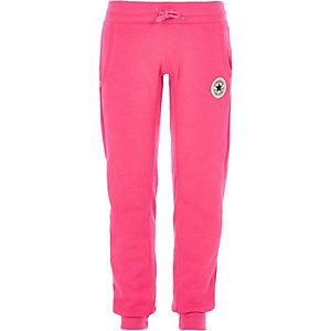 Converse - Roze joggingbroek voor meisjes