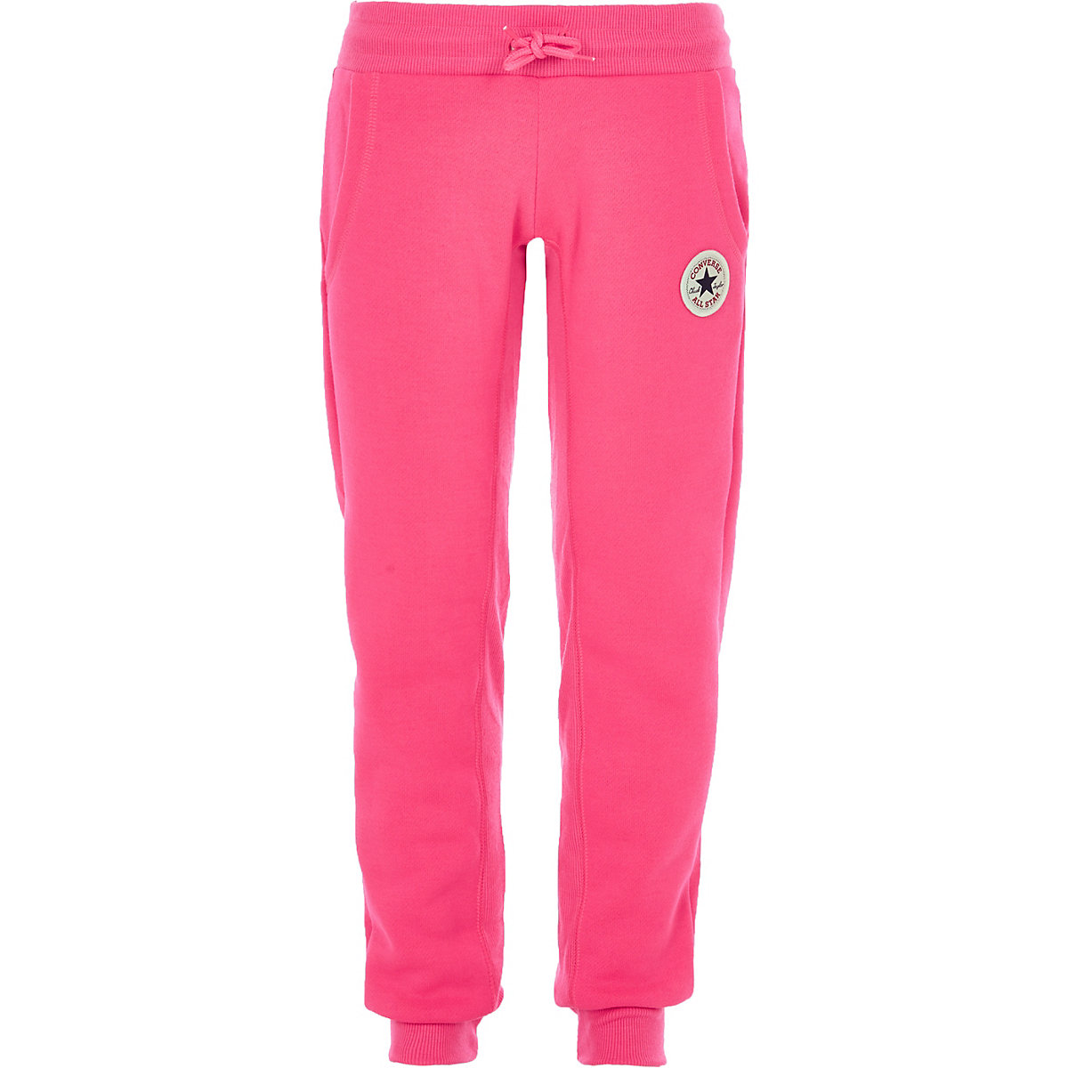 Girls Converse pink joggers