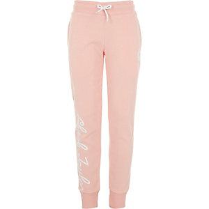 Converse – Pantalon de jogging «Chuck Taylor» rose fille