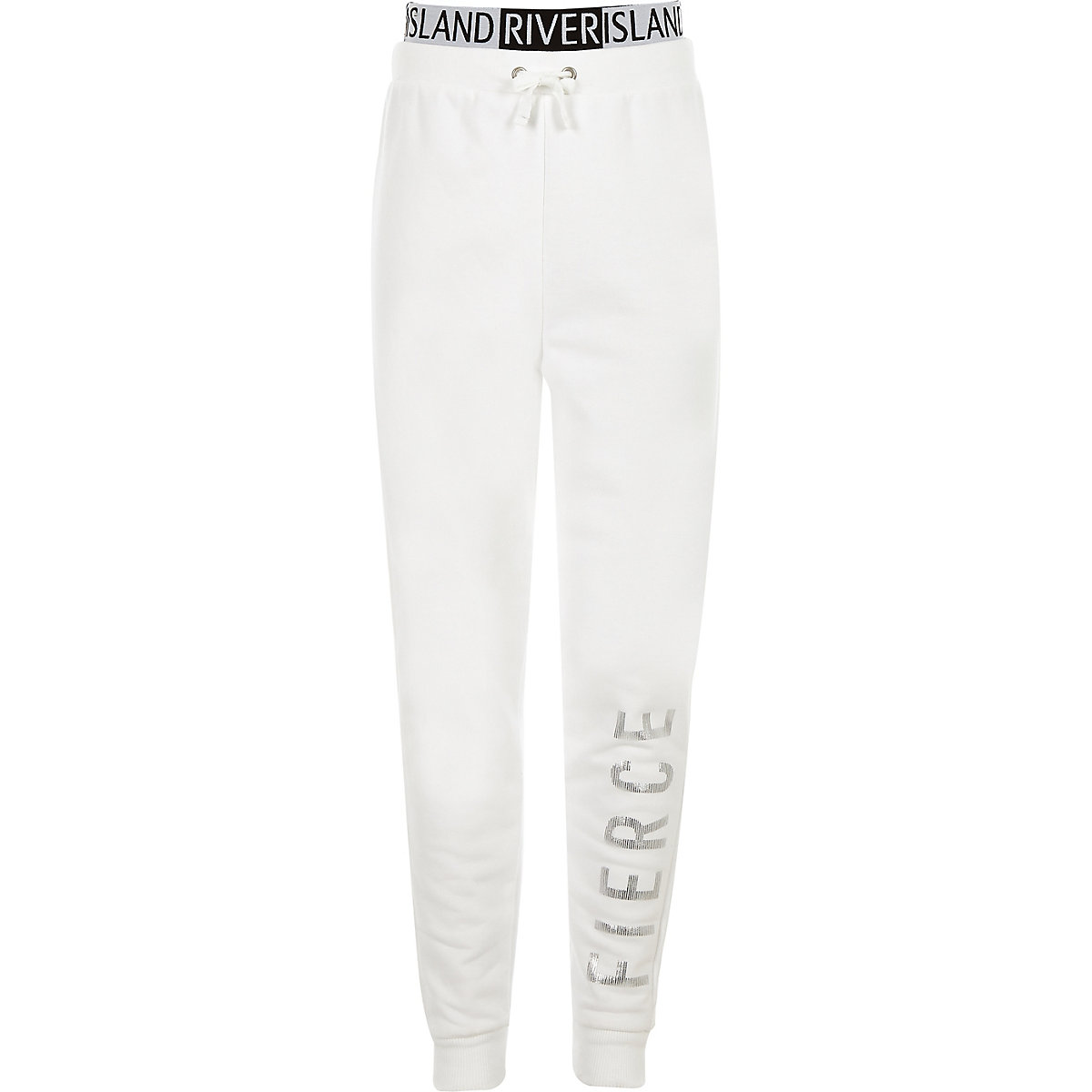 ... RI Active - Pantalon de jogging « Fierce » blanc pour fille ... 513ab94df29