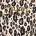 Girls cream leopard print 'chic' sweater