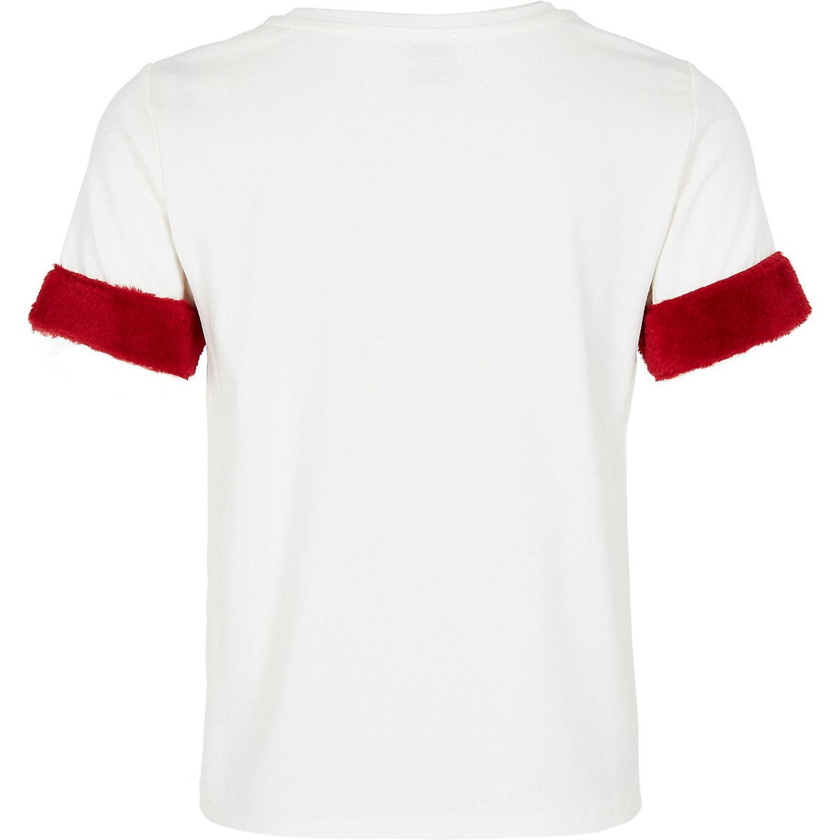 Girls Cream Simplicite T Shirt T Shirts Tops Girls