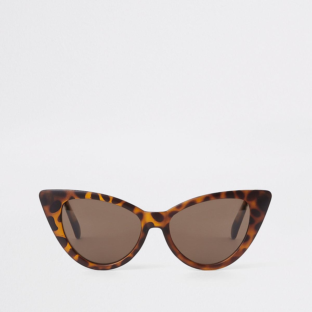 c539c01095 Girls brown tortoiseshell cat eye sunglasses - Sunglasses - Accessories -  girls