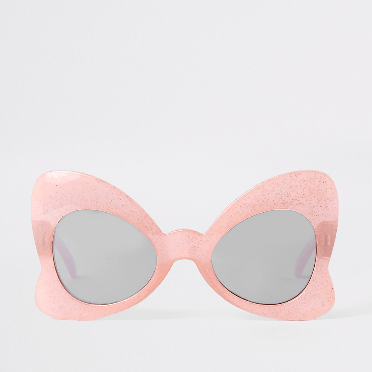 a5a79ddb8e519 Mini girls pink glitter bow sunglasses - Baby Girls Accessories - Mini Girls  - girls