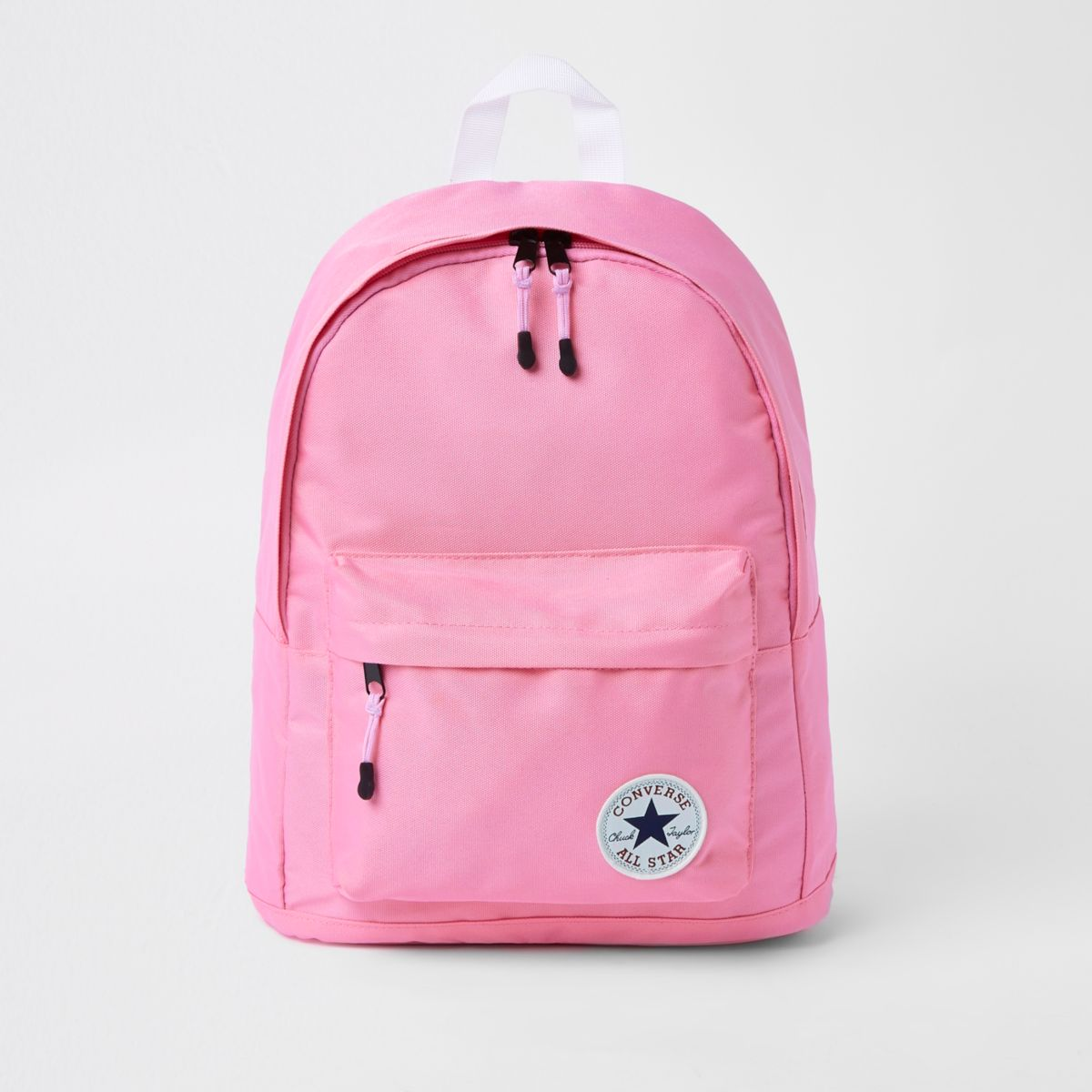 Girls pink Converse backpack