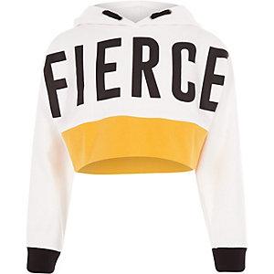 "RI Active – Kurzes Sweatshirt ""fierce"""