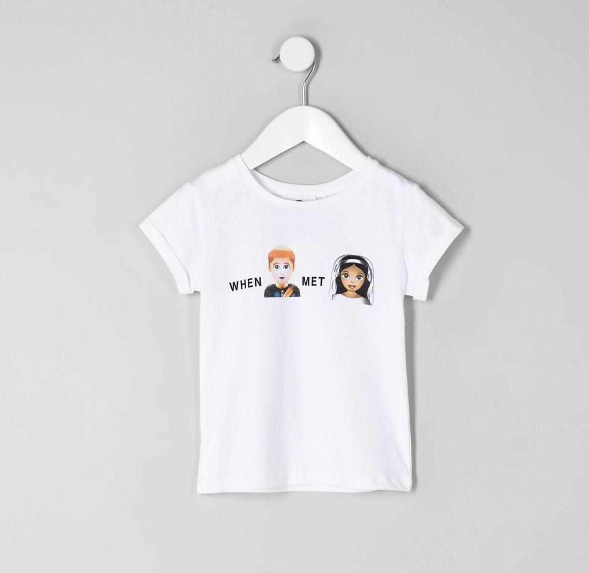 Mini girls 'when Harry met Meghan T-shirt
