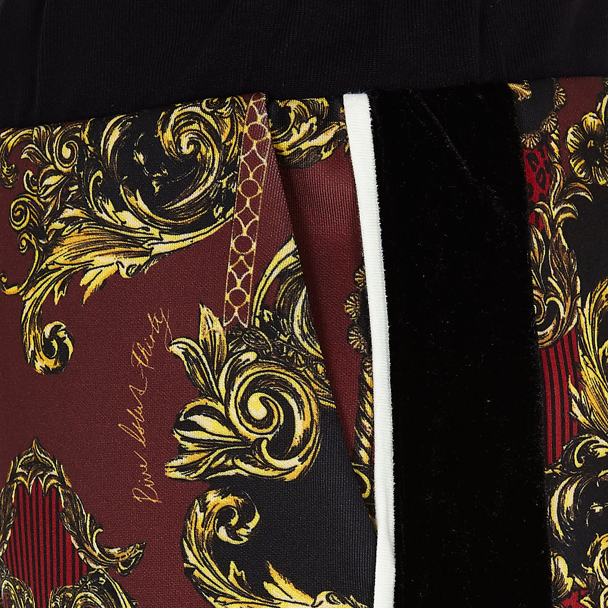 Bas de survêtement RI 30 imprimé rouge pour fille - Pantalons de ... bef97e0d805