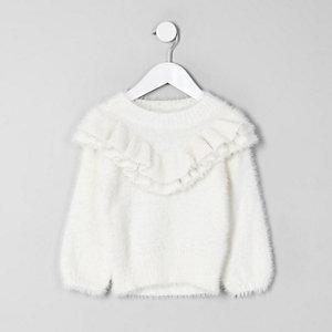 Kuscheliger Pullover in Creme