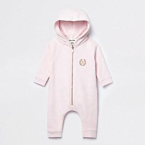 Baby-onesie in roze met engelvleugeltjes