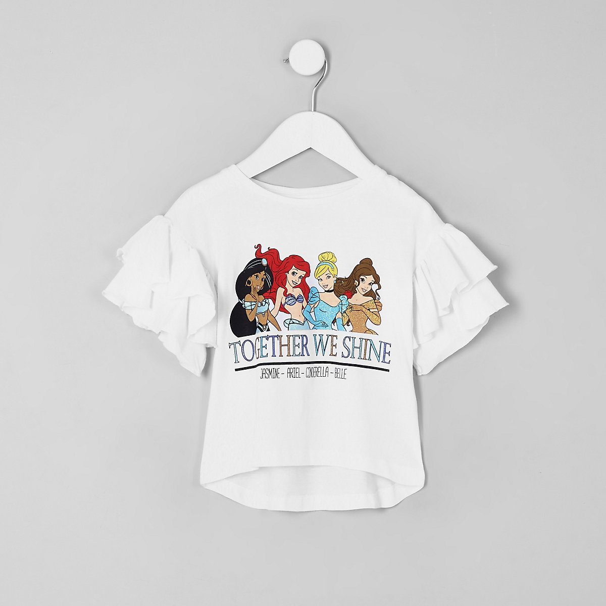 Mini girls 'Together we shine' Disney T-shirt
