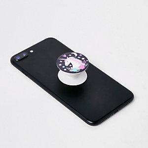Popsockets – Poignée et support de téléphone licorne violet pour fille