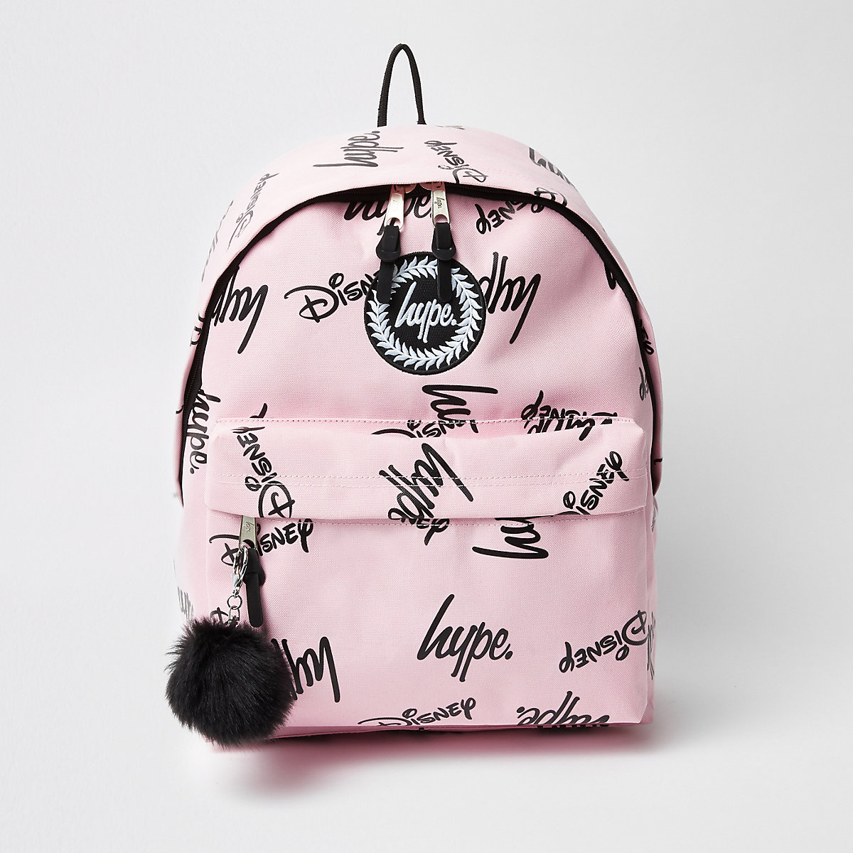 Girls pink Hype Disney backpack
