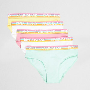 Multipack roze slipjes voor meisjes