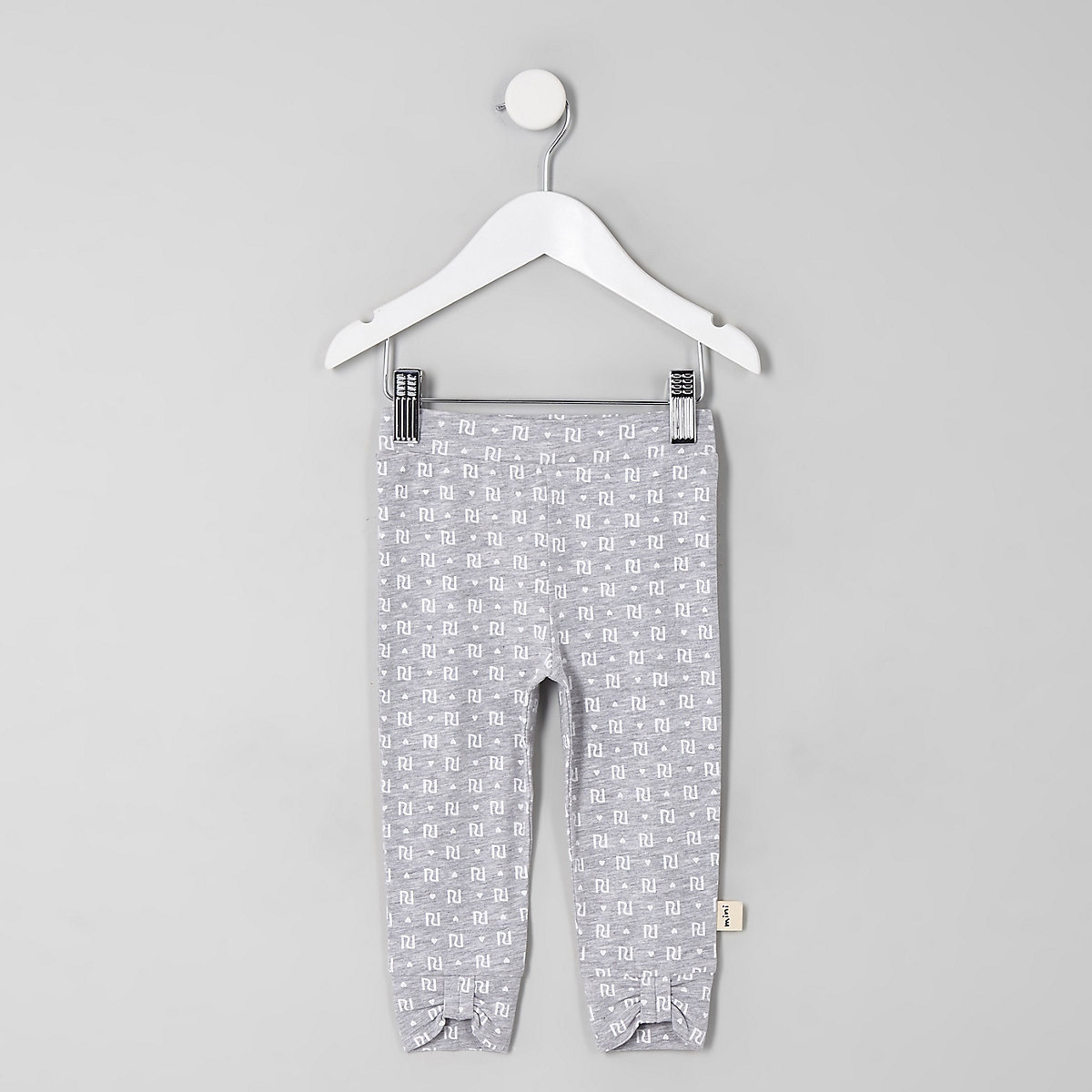 Mini girls grey RI leggings