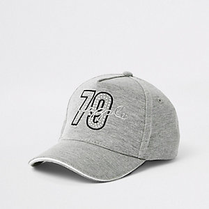 Girls Pineapple grey '79' cap