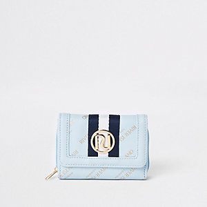 Blaue Geldbörse